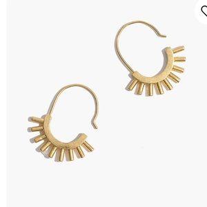New Madewell Succulent Earrings